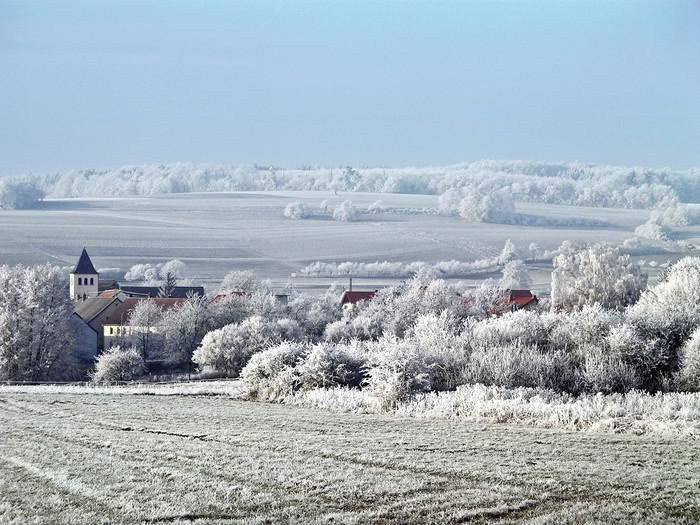 Winter in der Biosphäre