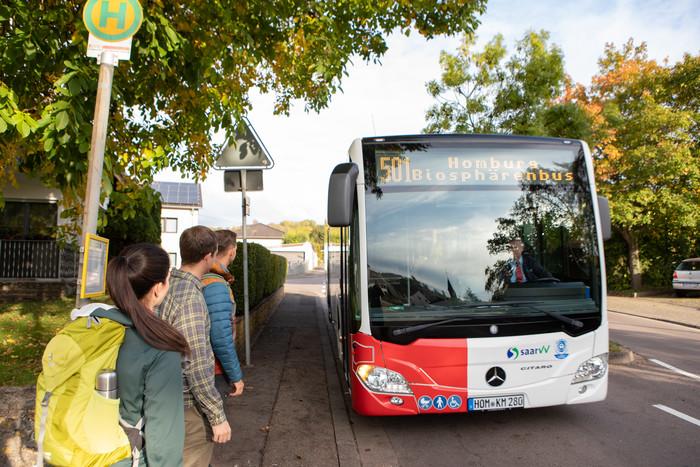 Mit dem Bus im Bliesgau unterwegs
