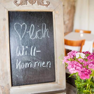 Café Saisonal in Herbitzheim, Eingang