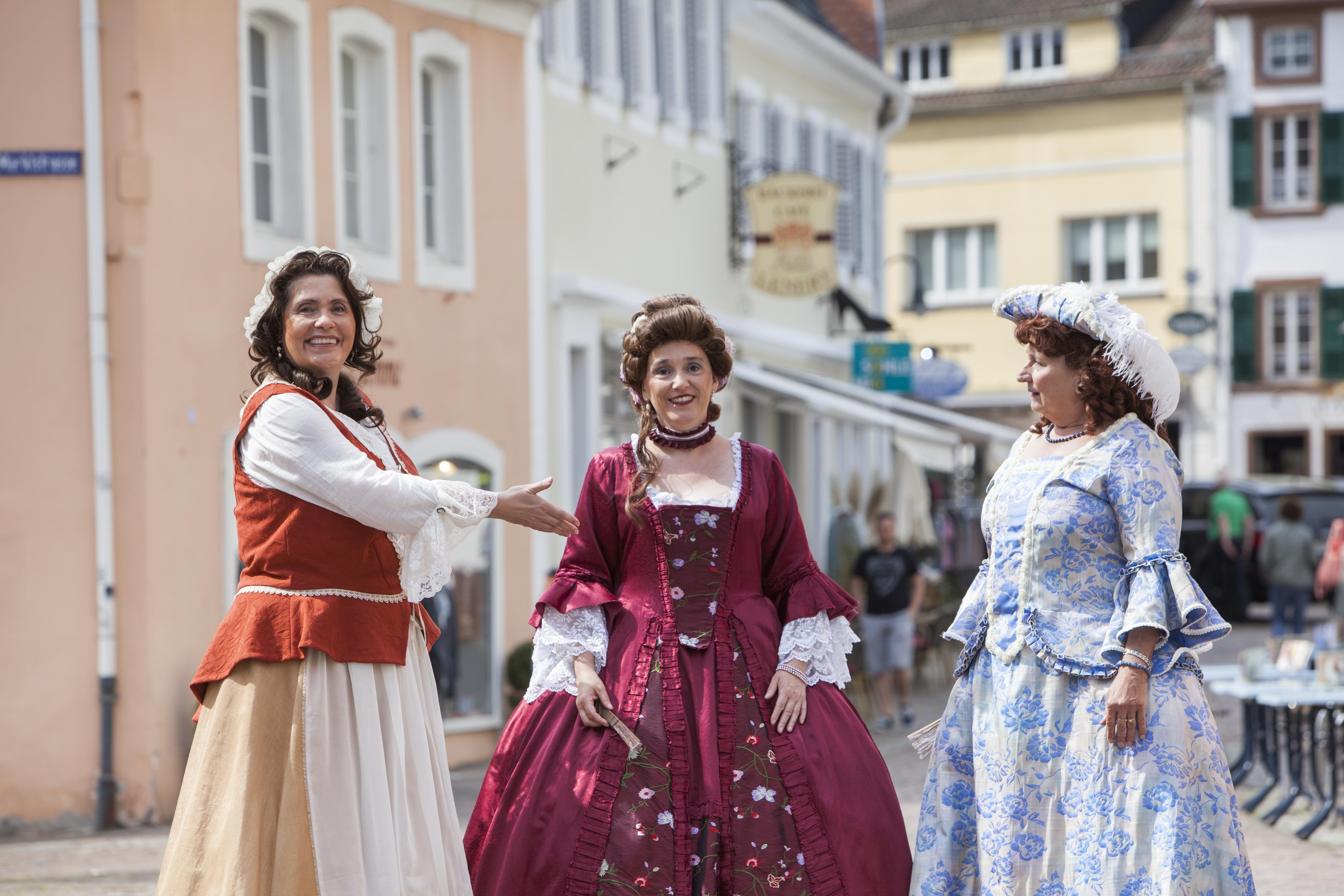 Barockführung Blieskastel, Gästeführer in Kostüm