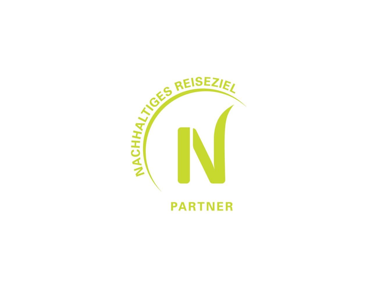 Nachhaltiges Reiseziel Partner Logo