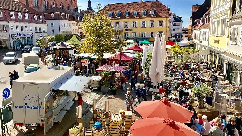 Landmarkt in Homburg 2018