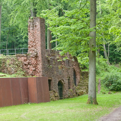 Ruine der Orangerie Karlsberg