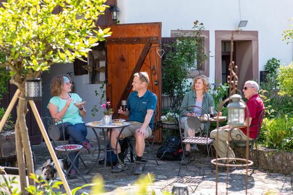 Garten im Café Saisonal
