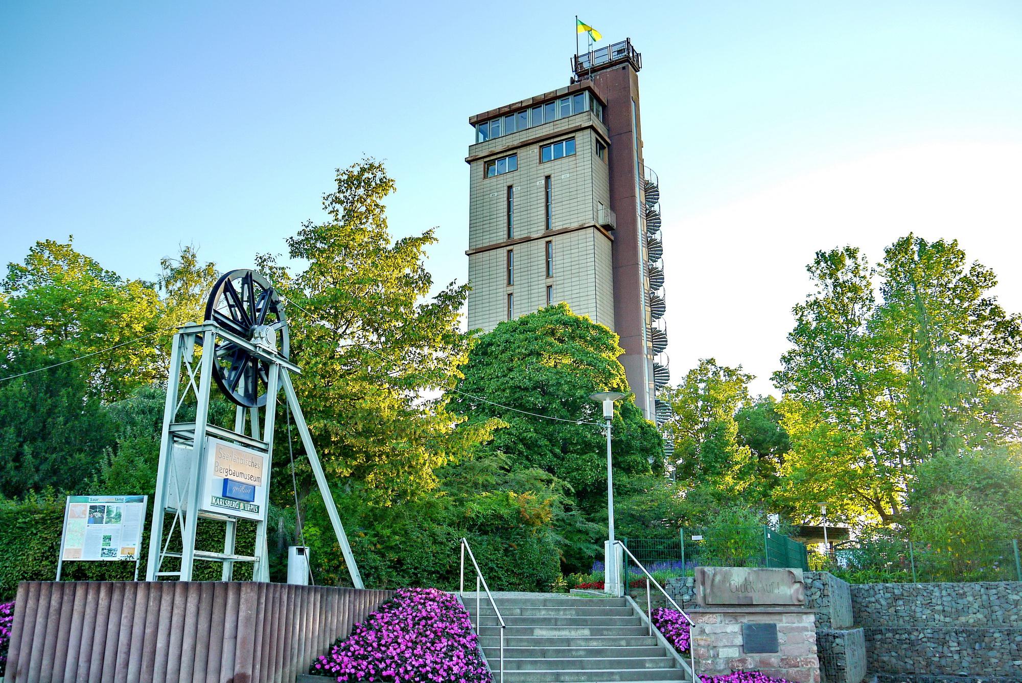 Hindenburgturm Bergbaumuseum Bexbach
