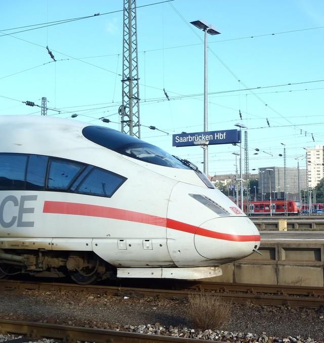 ICE Bahnhof Saarbrücken