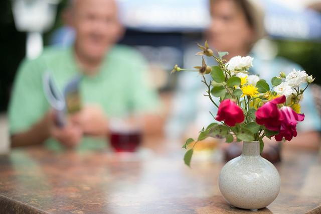 Blumenbouquet im Bliesgau