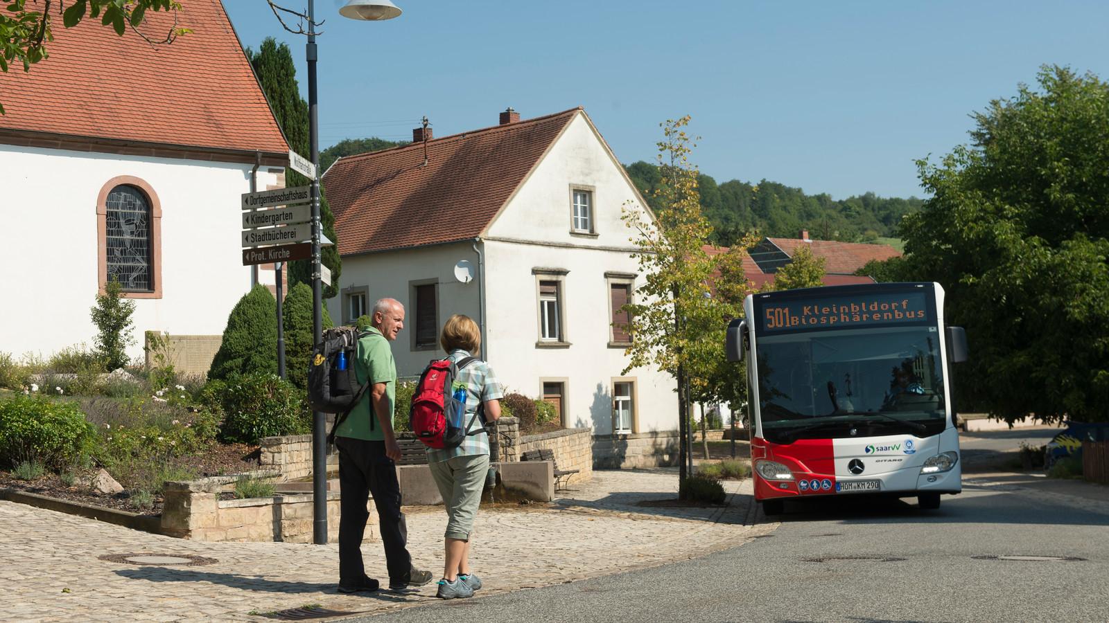 Wandern mit Bus und Bahn, Biosphärenbus 501