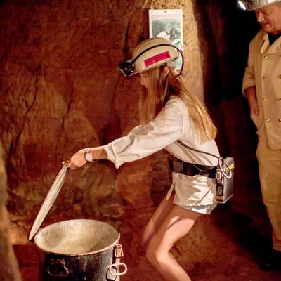 Rischbachstollen, Kinder, Führung, Bergwerk