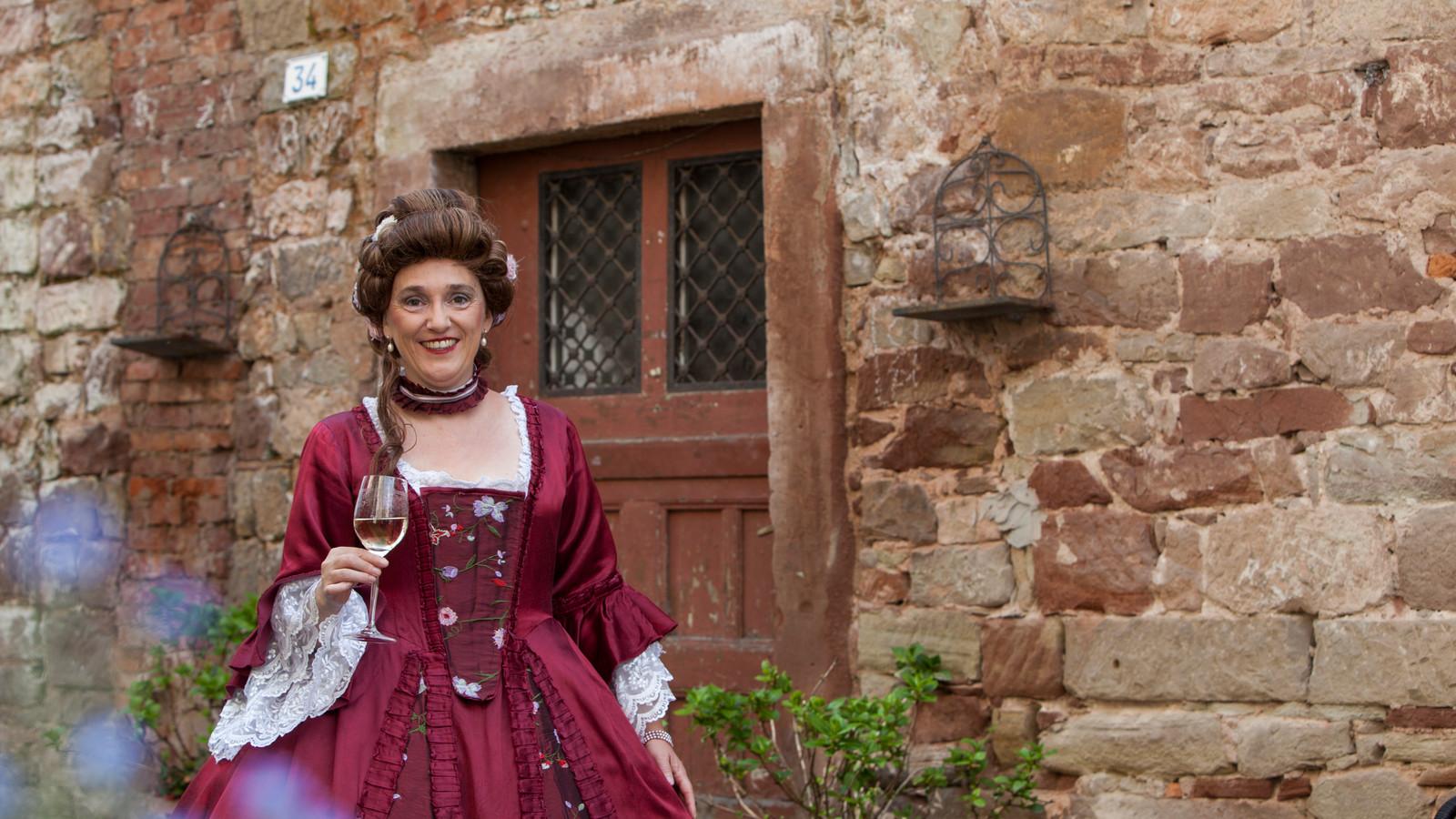 Gräfin Marianne Von der Leyen in der Barockstadt Blieskastel