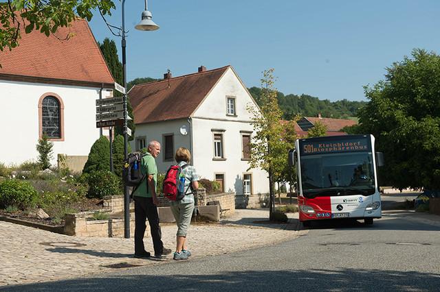 Biosphärenbus in Blieskastel-Wolfersheim