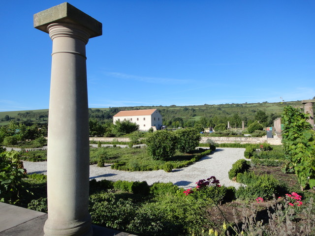 Europäischer Kulturpark Bliesbruck-Reinheim mit römischem Garten