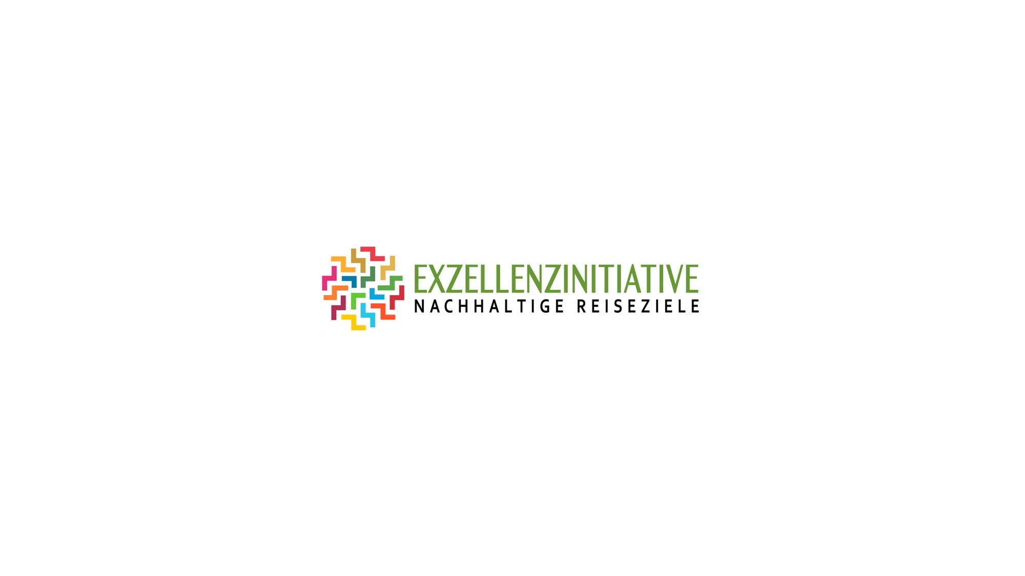 Logo Exzellenzinitiative Nachhaltige Reiseziele