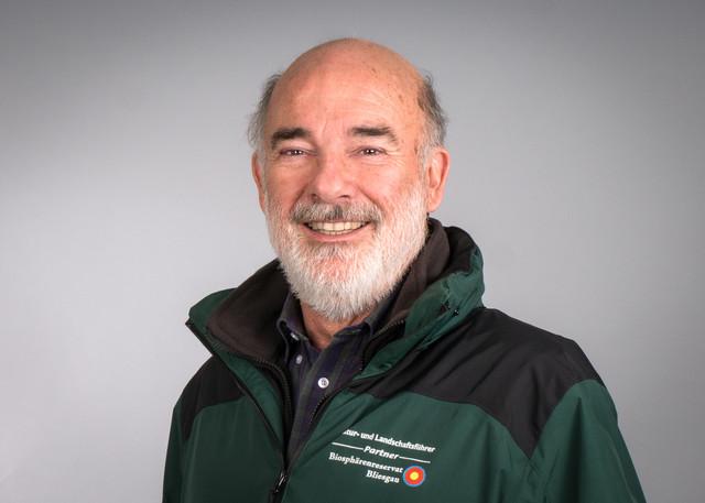 Natur- und Landschaftsführer Peter Hartmann