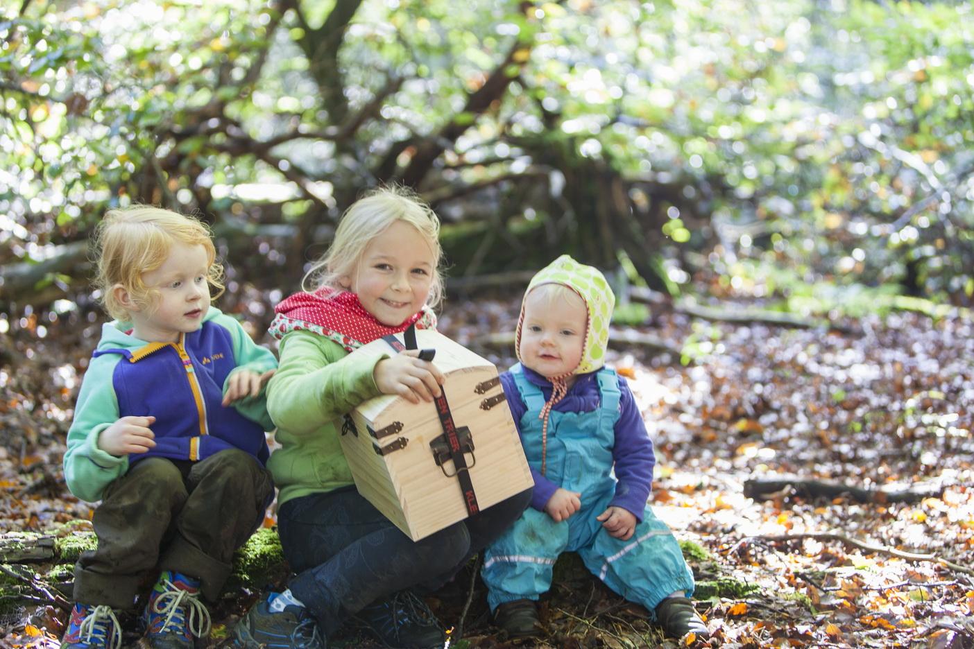 Wandern mit Kindern im Kirkeler Wald