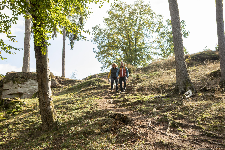 Wandern auf der Schlöossbergtour