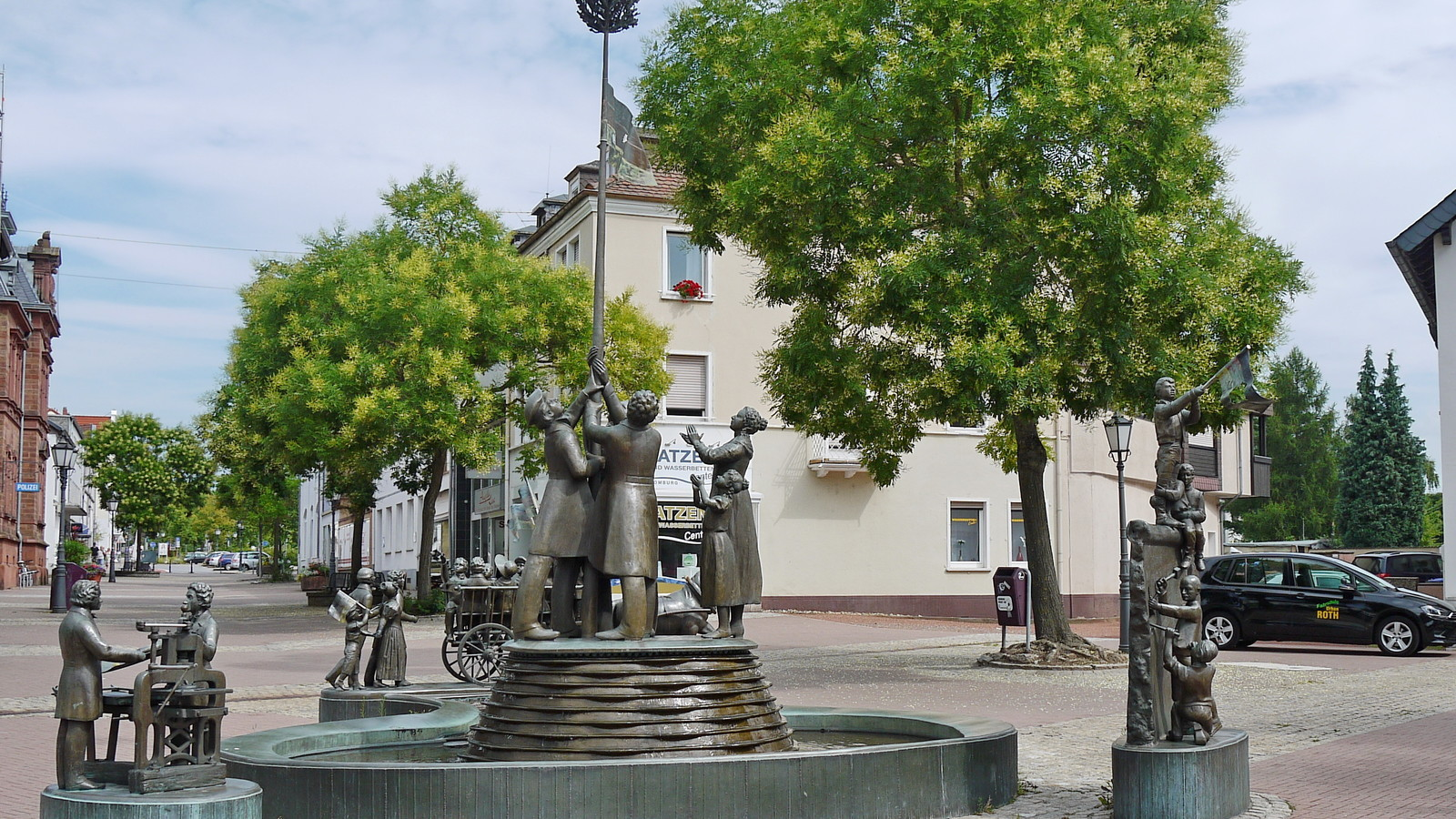 Freiheitsbrunnen Homburg