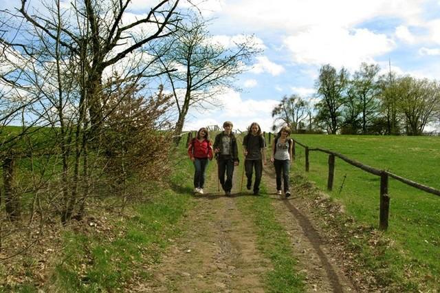 Wanderer im Bliesgau