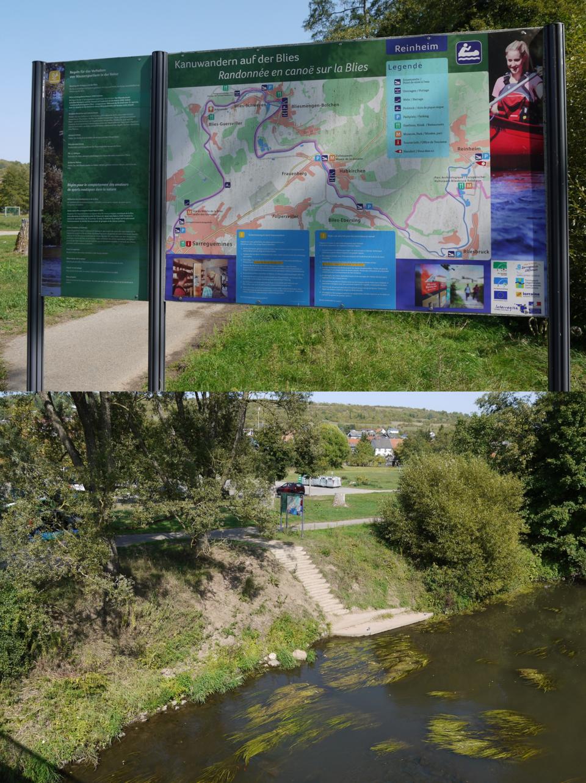 Kanuanlegestelle Reinheim