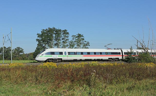 Mit der Deutschen Bahn unterwegs