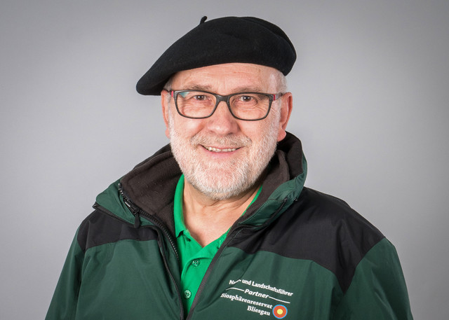 Natur- und Landschaftsführer Franz Stolz