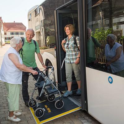 Unser Biosphärenbus 501 ist barrierefrei