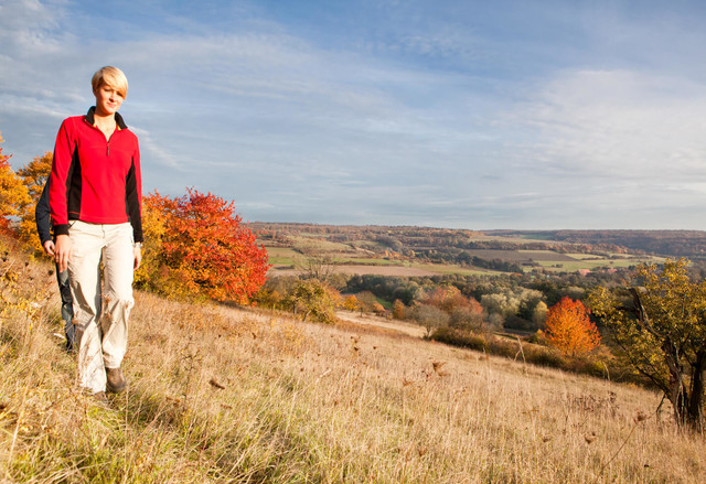Wandern im Herbst im Bliesgau