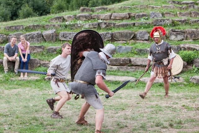 Vorstellung Kelten und Römer