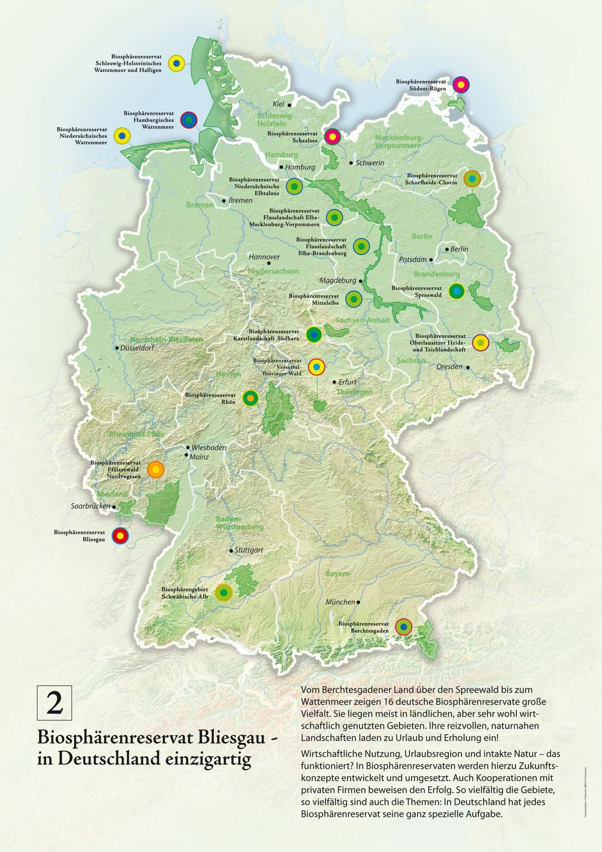 Biosphärenreservate Deutschland