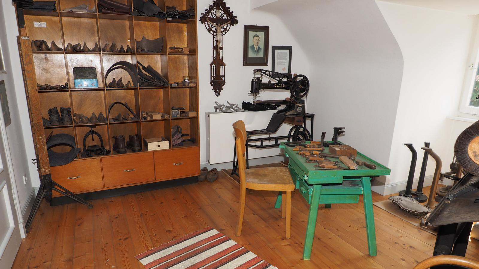 Im Heimatmuseum Oberwürzbach gibt es so einiges zu entdecken