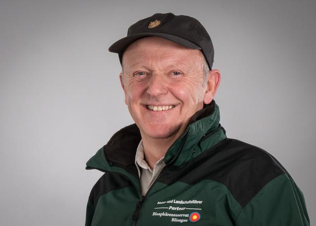 Natur- und Landschaftsführer Christoph Heck