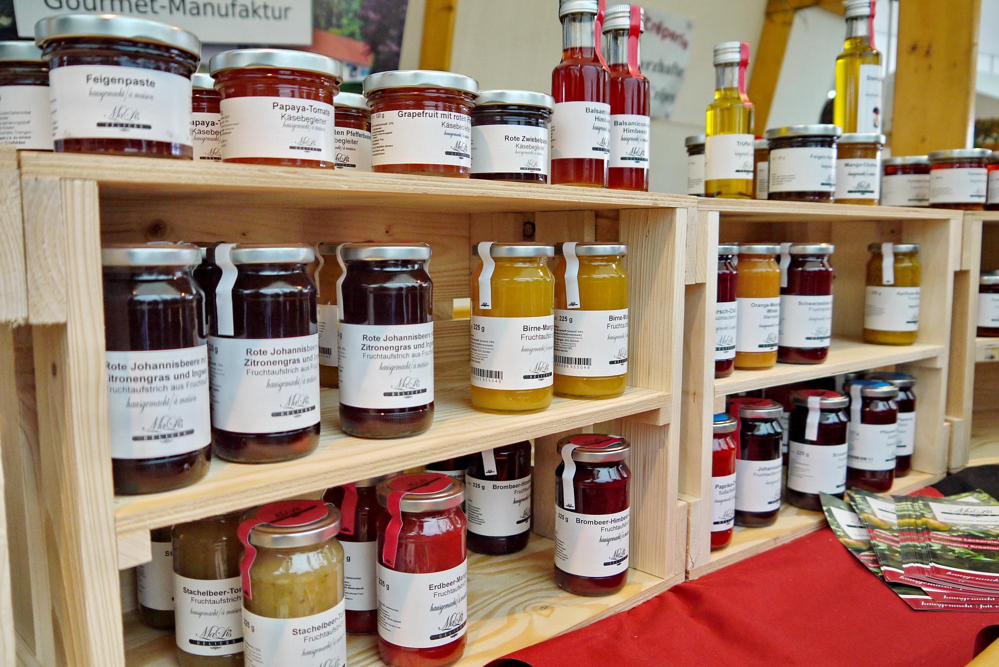 Gourmet Manufaktur Mali'sDelices auf dem Biosphärenmarkt
