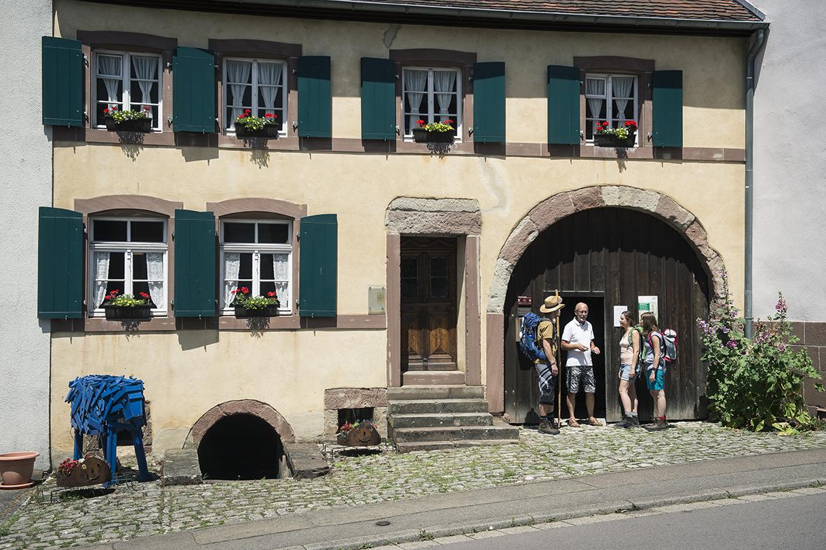 Pilger in Auersmacher