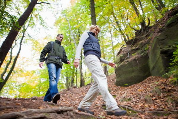 Wandern im Herbst auf der Kirkeler Tafeltour