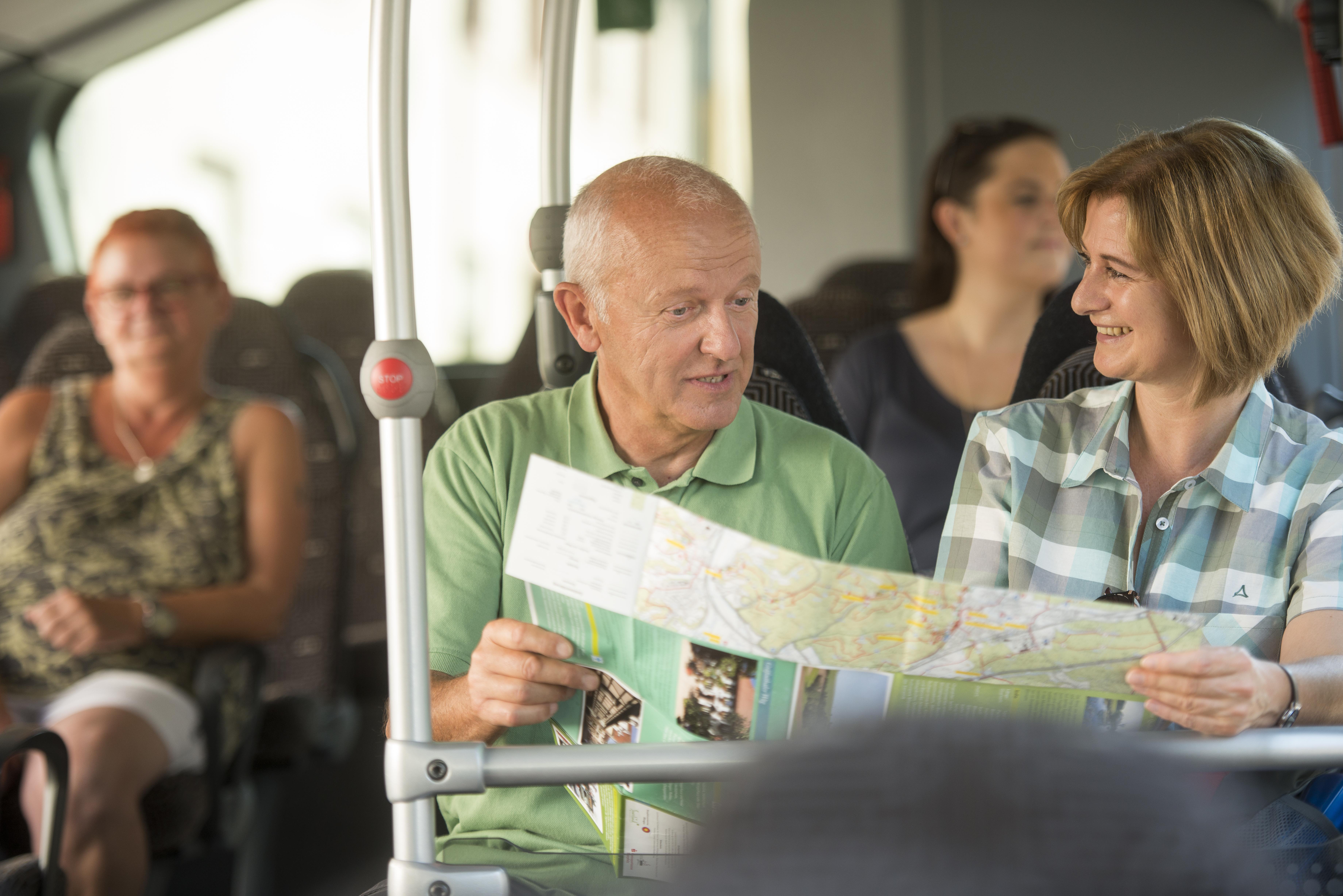 Nutzen Sie den Biosphärenbus zur Hin- und rückfahrt von Wanderungen