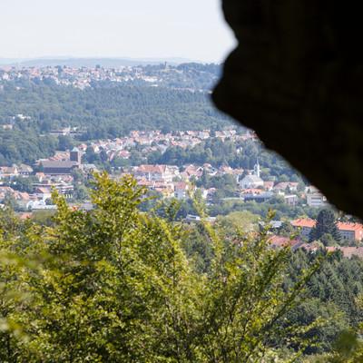 Ausblick vom Stiefel St. Ingbert