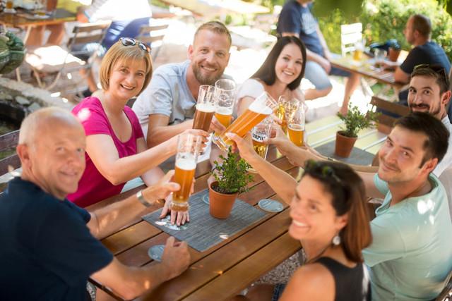 Biergarten Zum Pferchtal