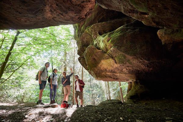 Kirkeler Tafeltour und Felsenpfad