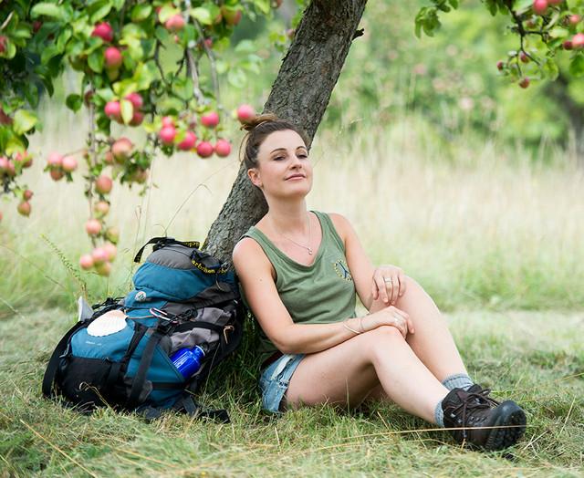 Pause unterm Apfelbaum in Kleinblittersdorf, Wintringer Hof